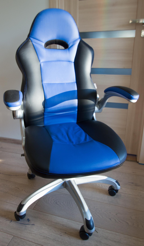 Kontorstol STAPLES Foroni sortblå | Staples®