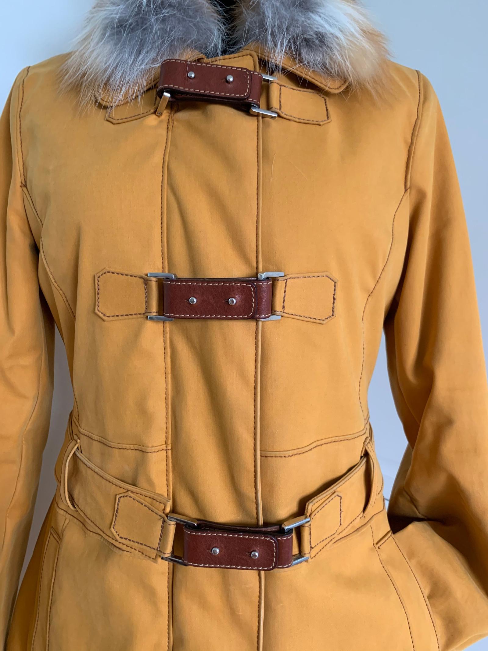 Designer vinterjakke kåpe fra italienske luksus merke Henry