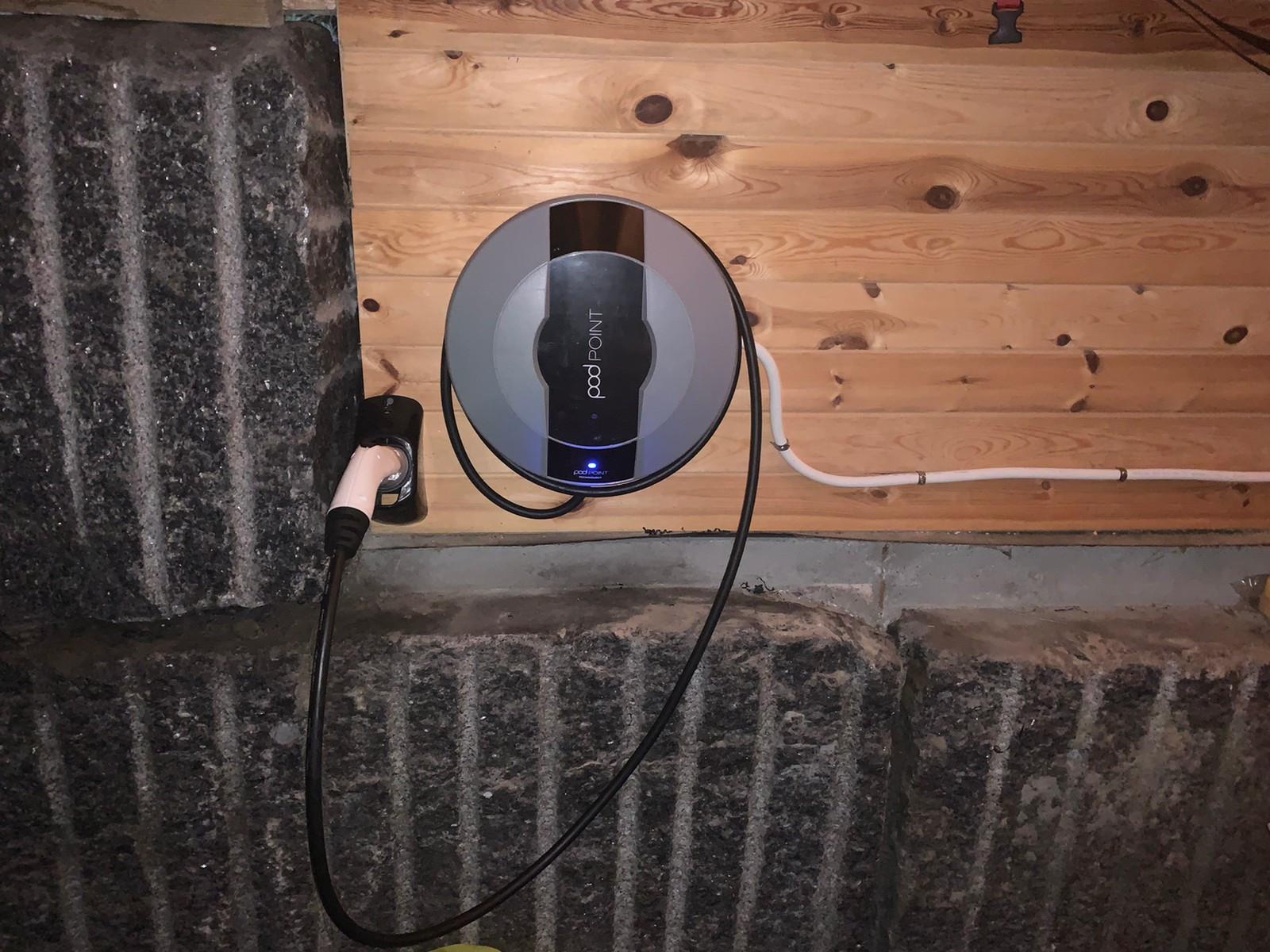 Elbil lader Pod Point 3,6kW Solo | FINN.no