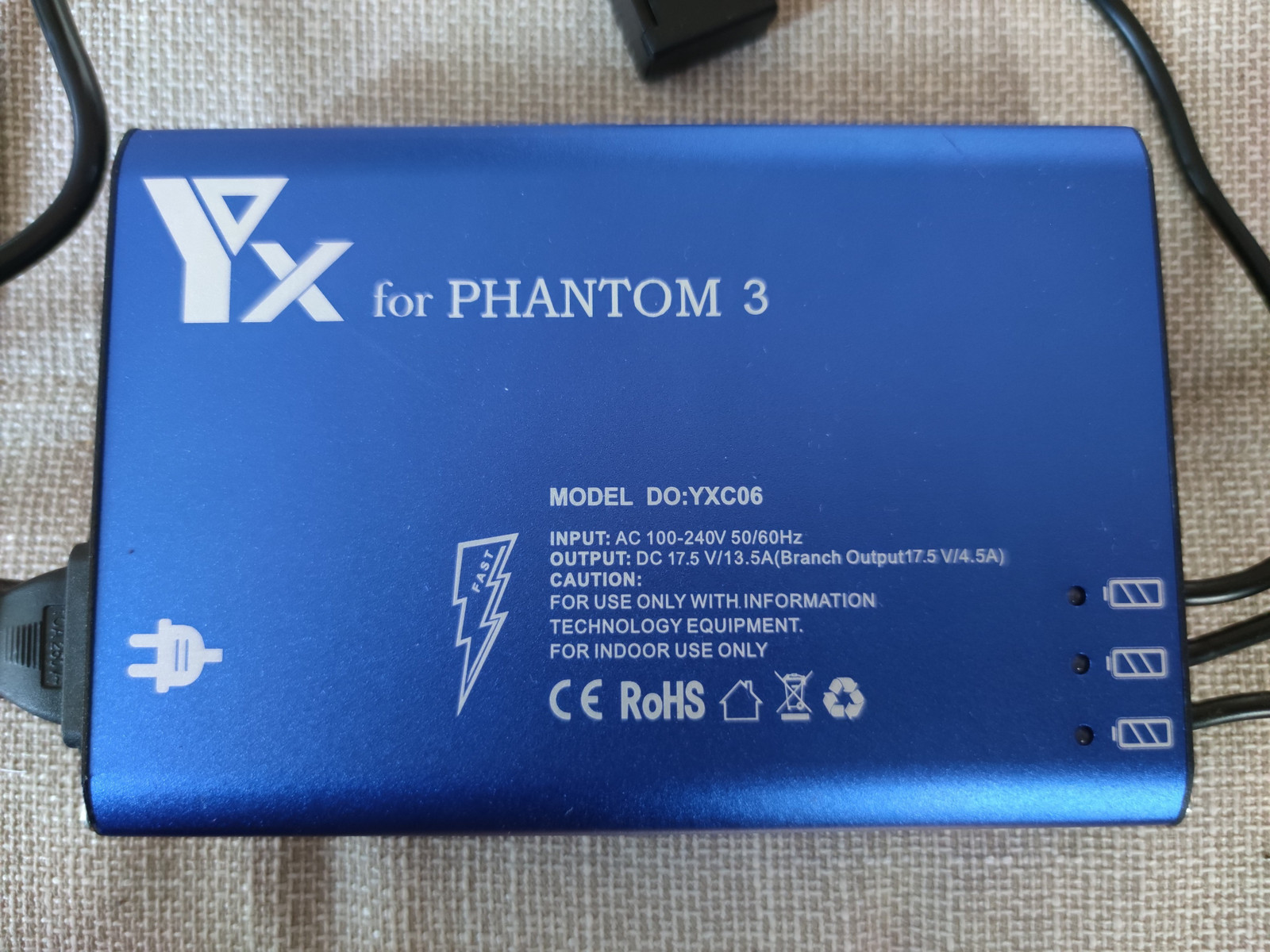 YX 5 i 1 lader for DJI Mavic Pro | FINN.no