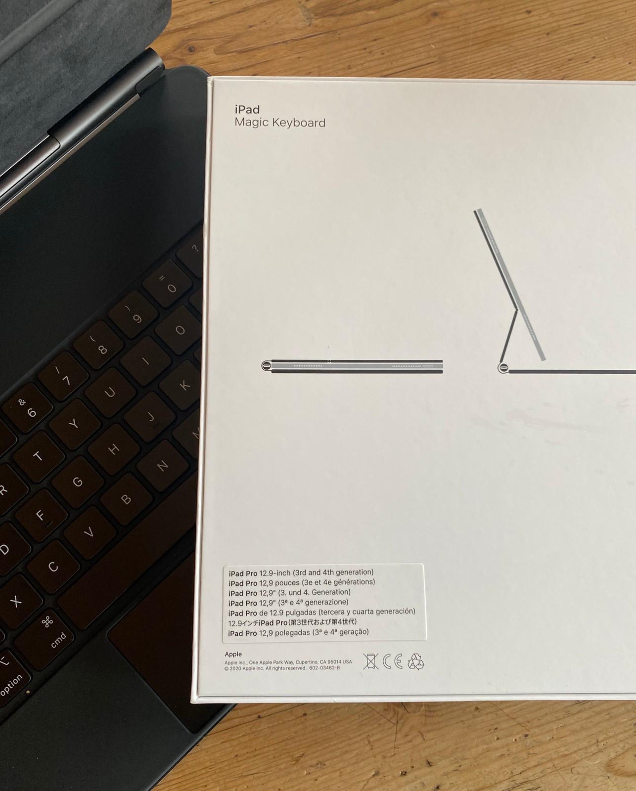 Apple Magic Keyboard til iPad Pro 11 (norsk layout)   FINN.no