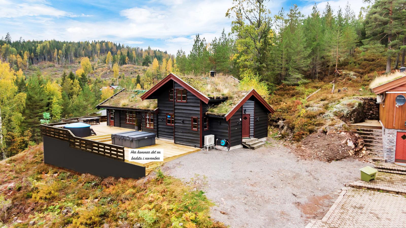 Hytta Lillelardal i Alpinveien 149, 3275 Svarstad