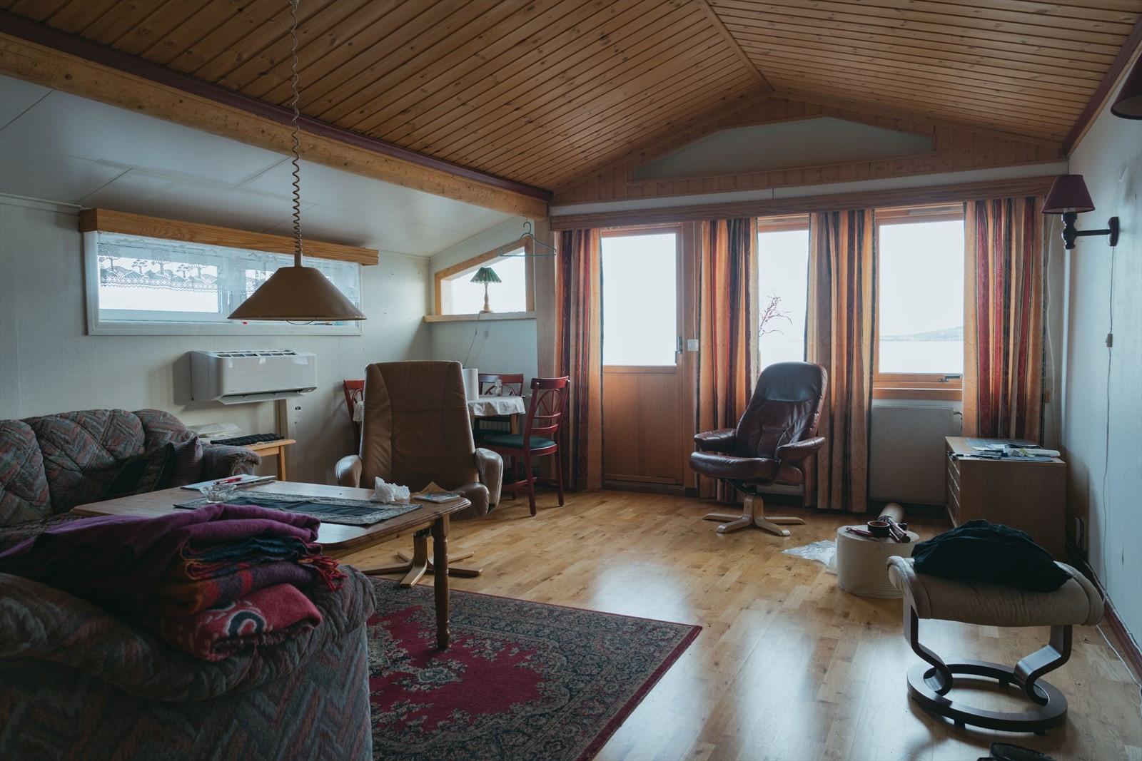 Stue i boligdelen