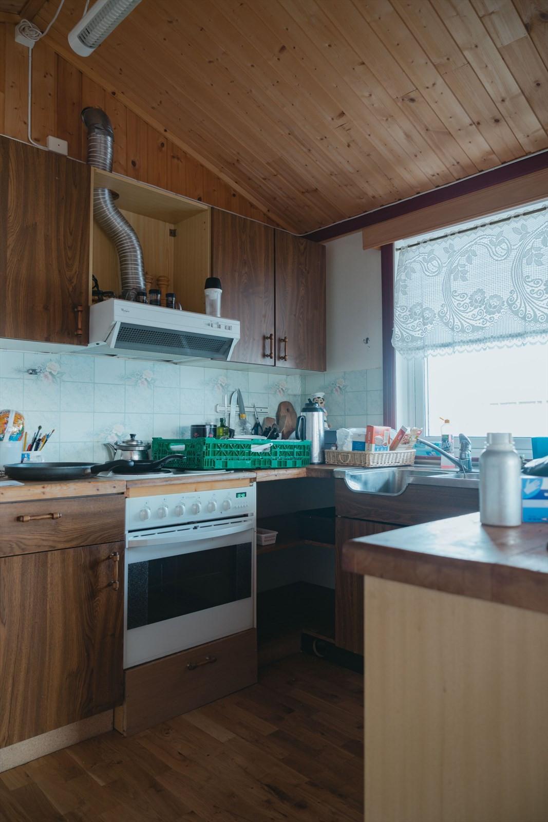 Kjøkken i boligdel