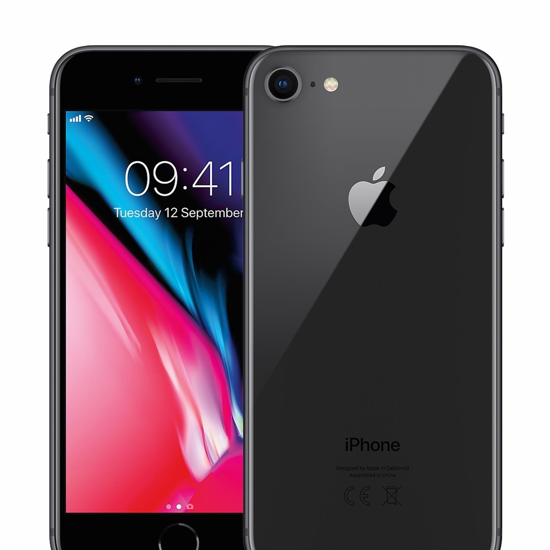 Apple iPhone 8PLUS 64GB Sort Brukt 6 Måneder Garanti