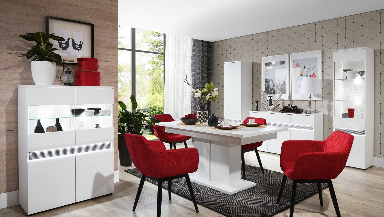 Moderne møbler NEO hvit høyglans | FINN.no