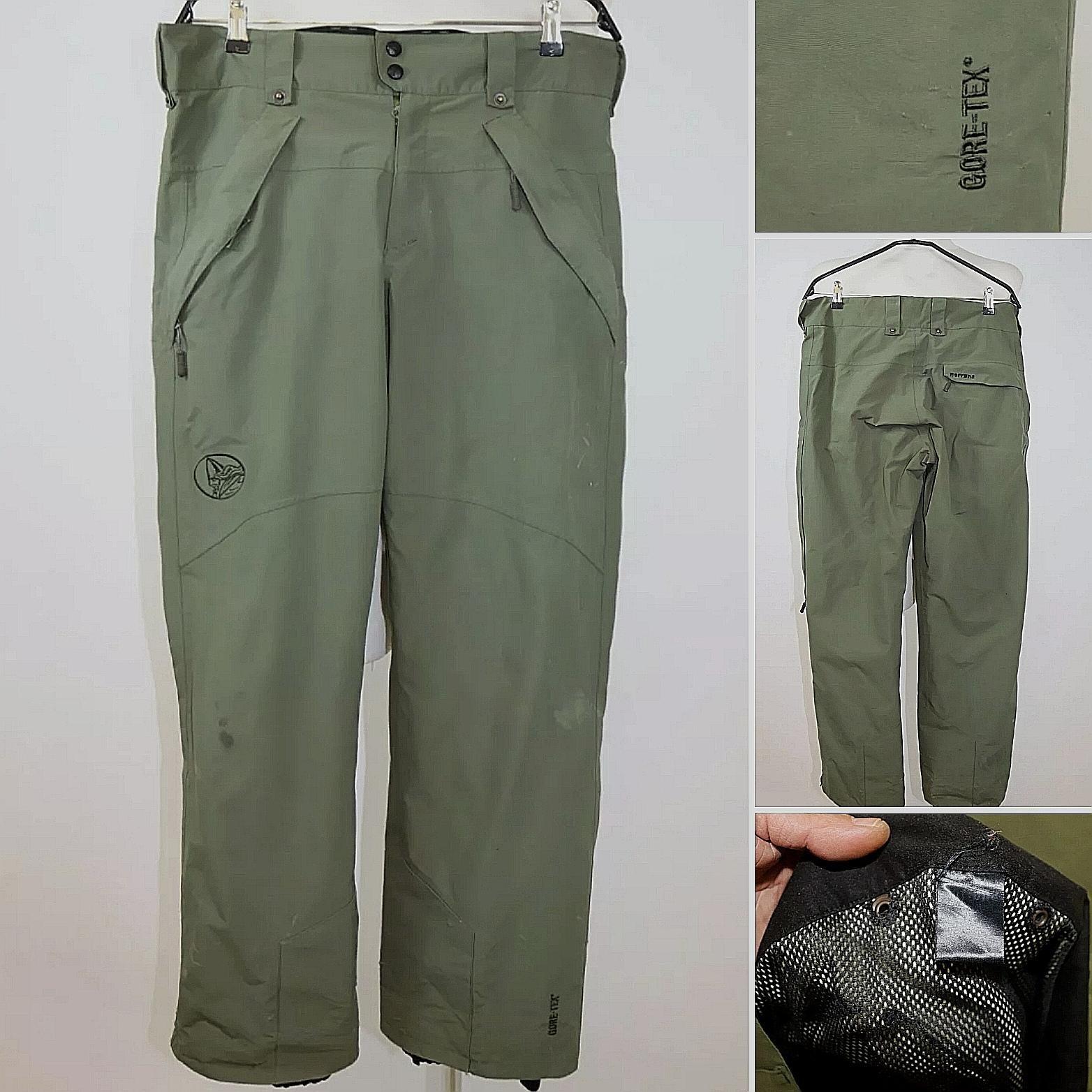 Norrøna gore tex bukse med mesh str 52 l xl   FINN.no