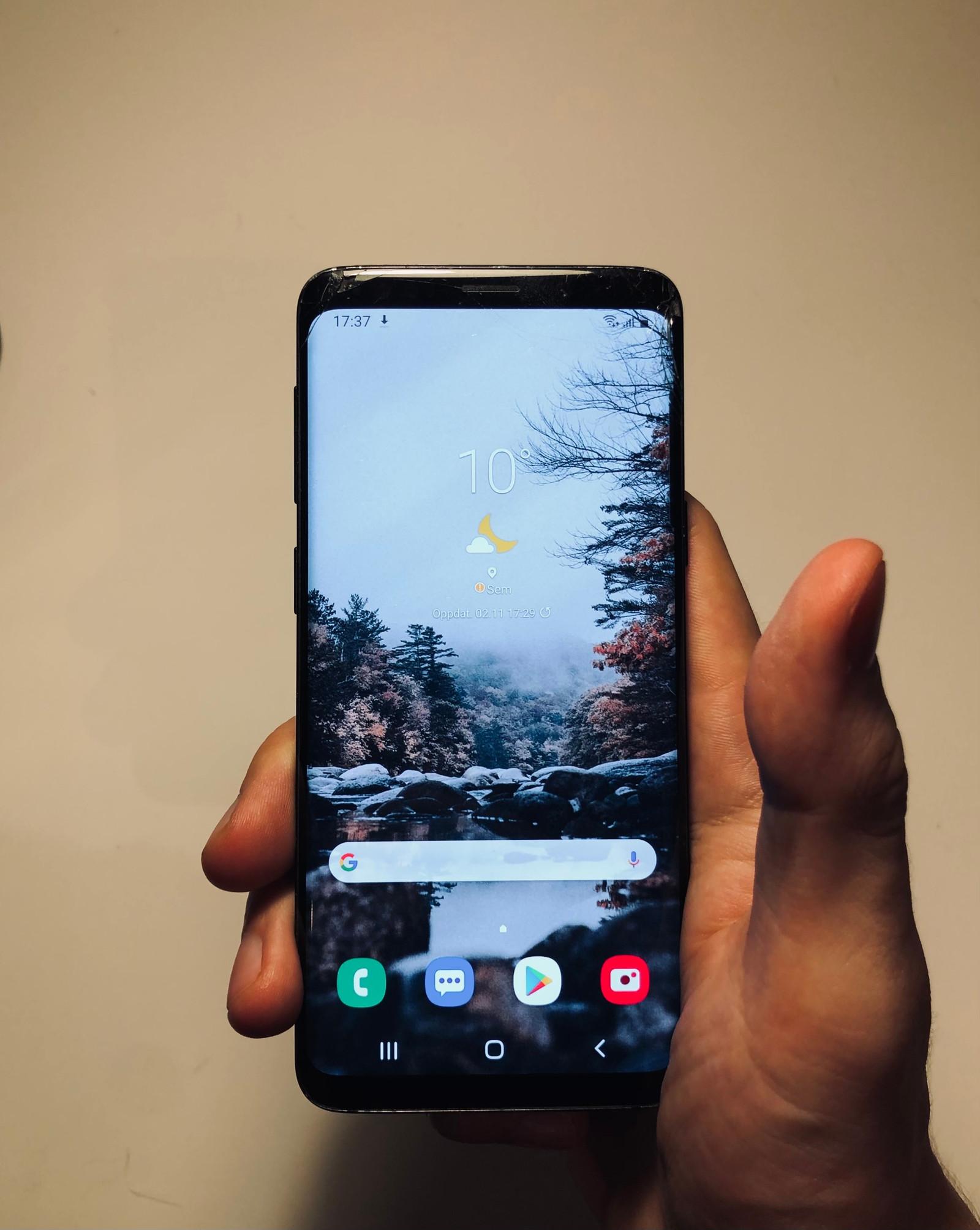 Samsung S9 Selges billig! Oppussing prosjekt! 64GB trådløs