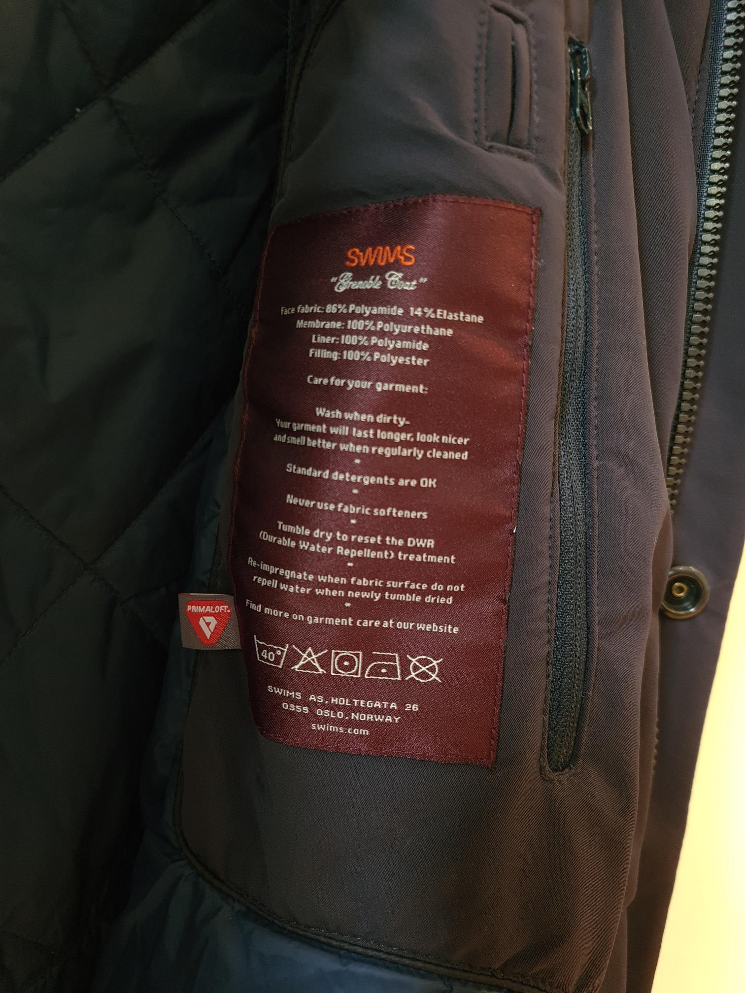 Swims herre jakke til salg . Ny pris 4500