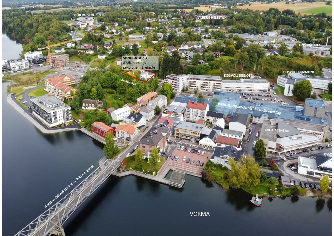 Eidsvoll kommune - i sterk utvikling med flere påbegynte byggeprosjekter