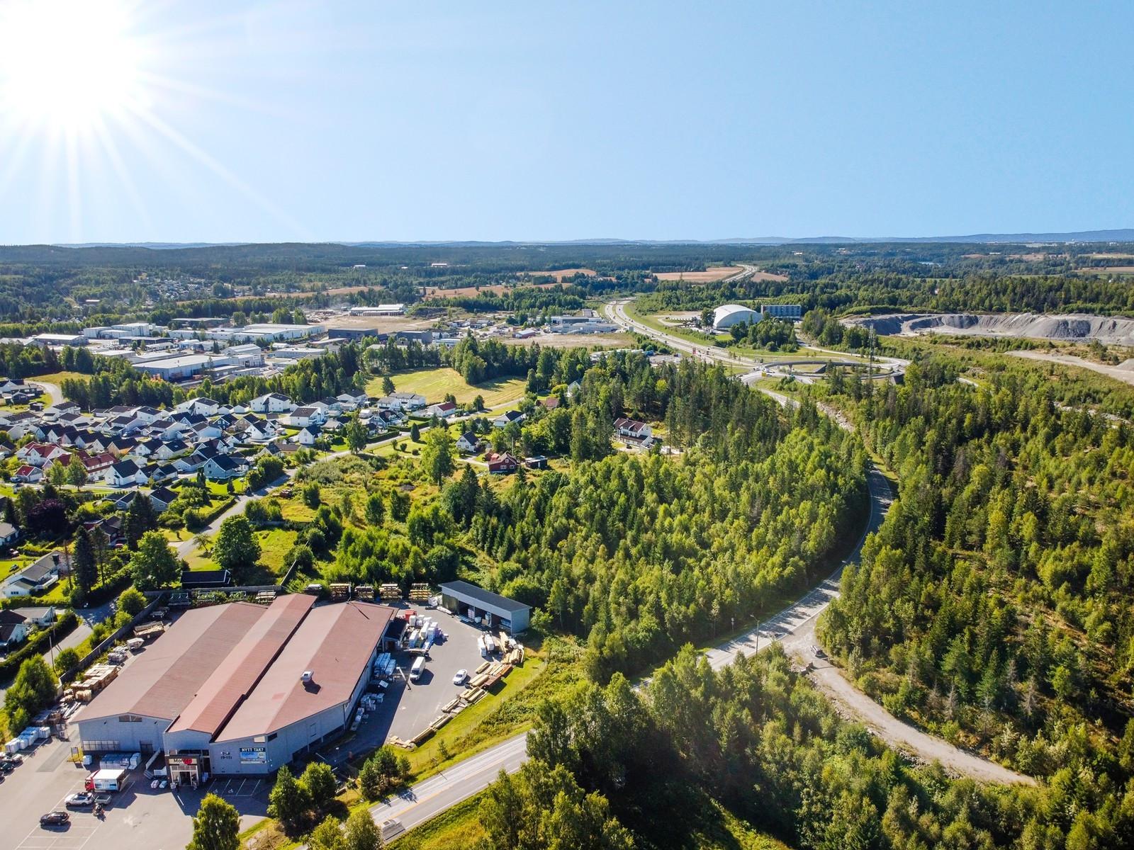 Enkel adkomst til transportstrekning Oslo-Gardermoen-Minnesund