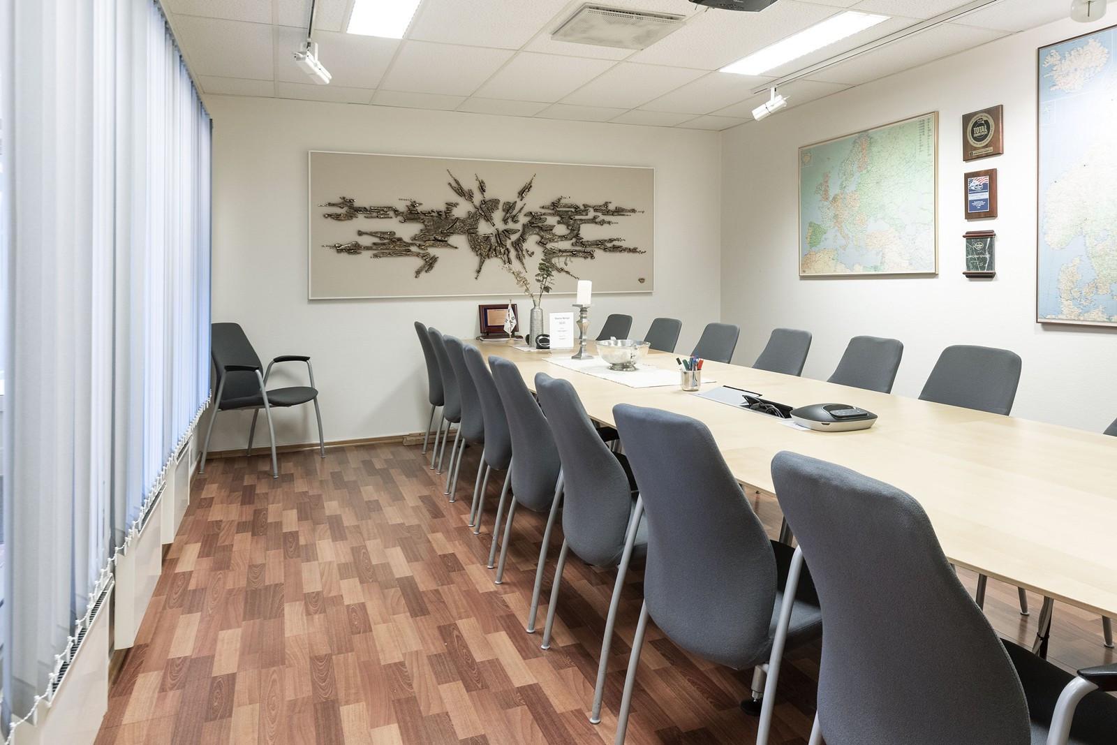 Stort og moderne møterom