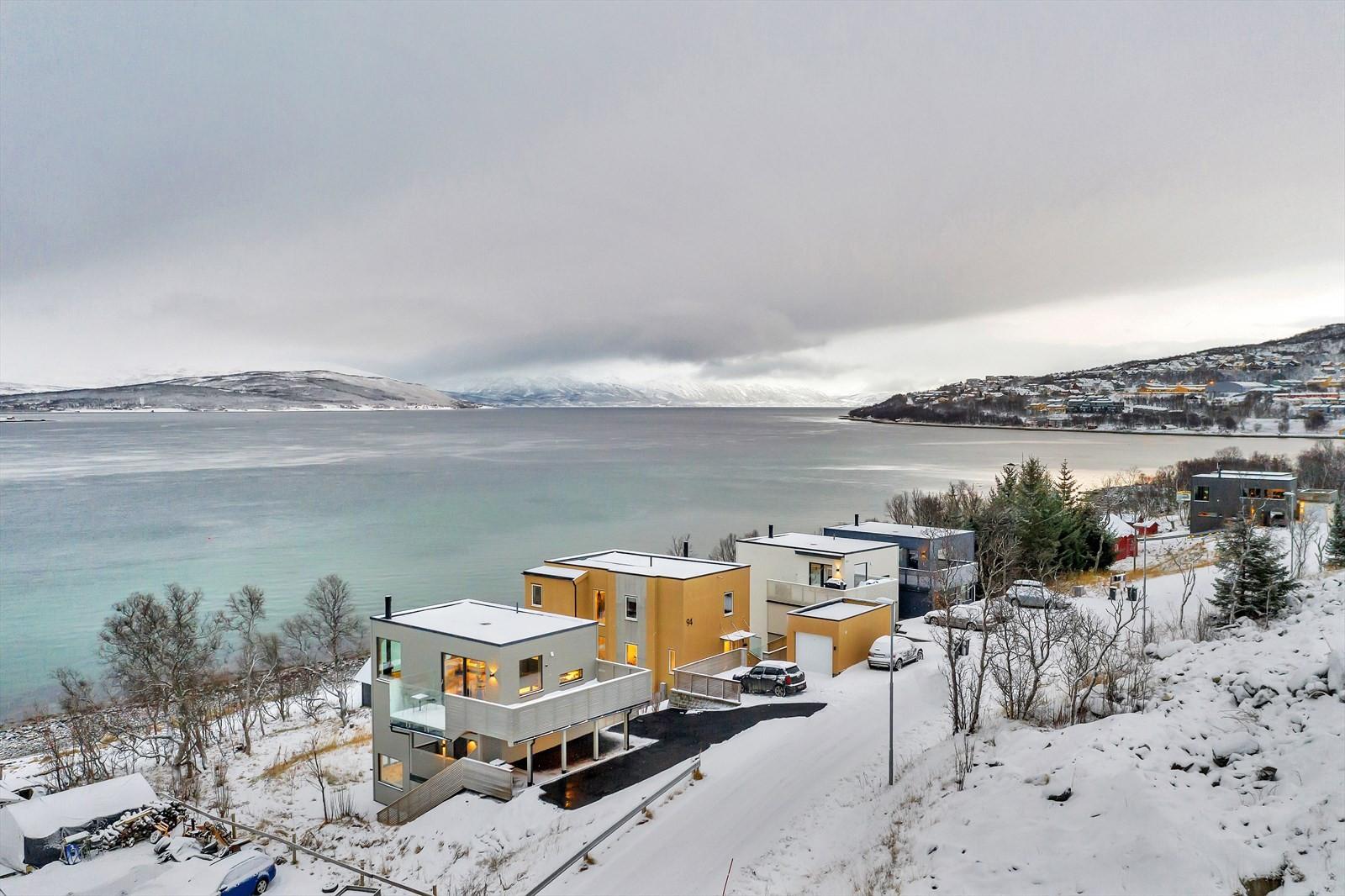 Utsikt mot Ringvassøya i nord