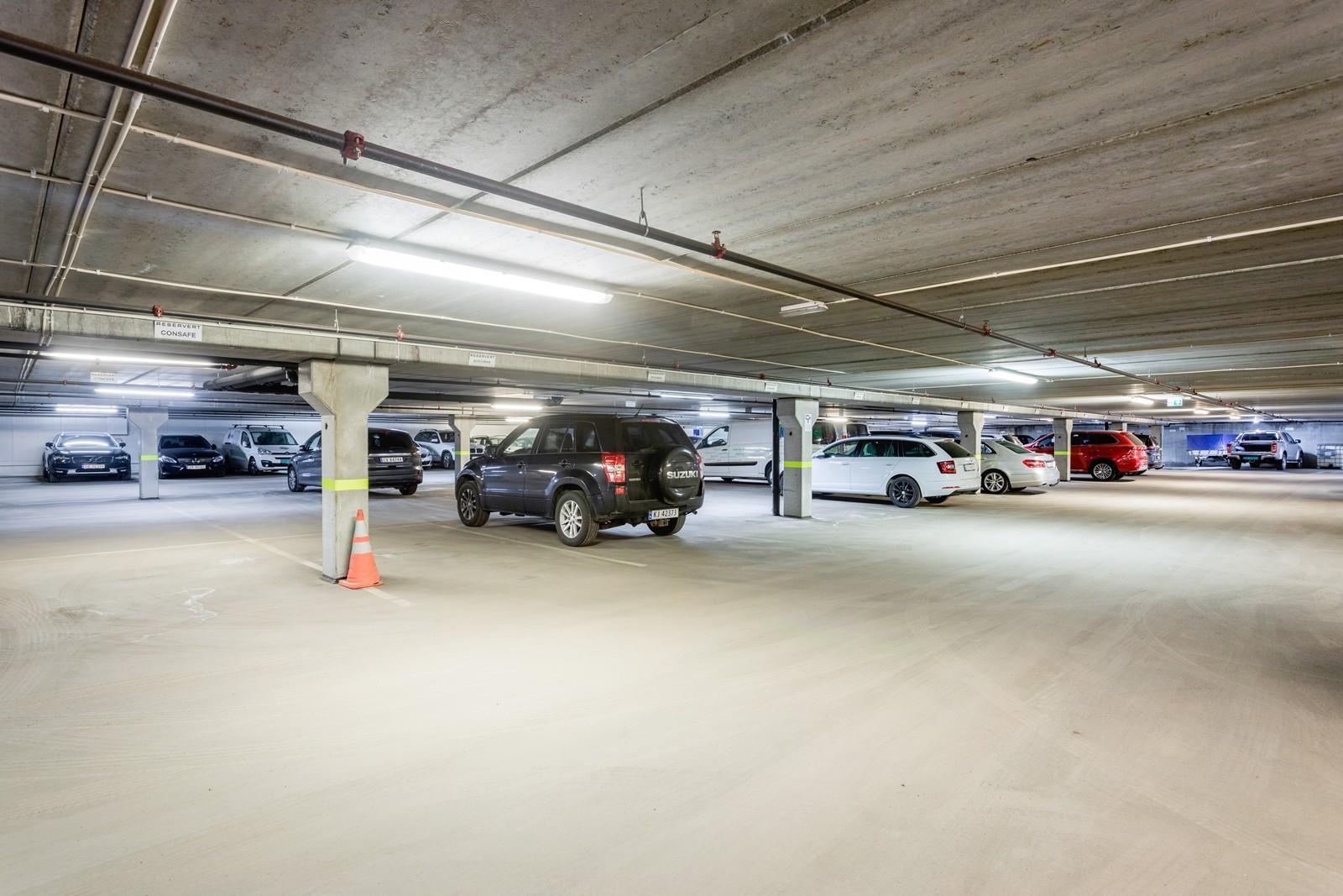Mulighet for å leie innendørsparkering