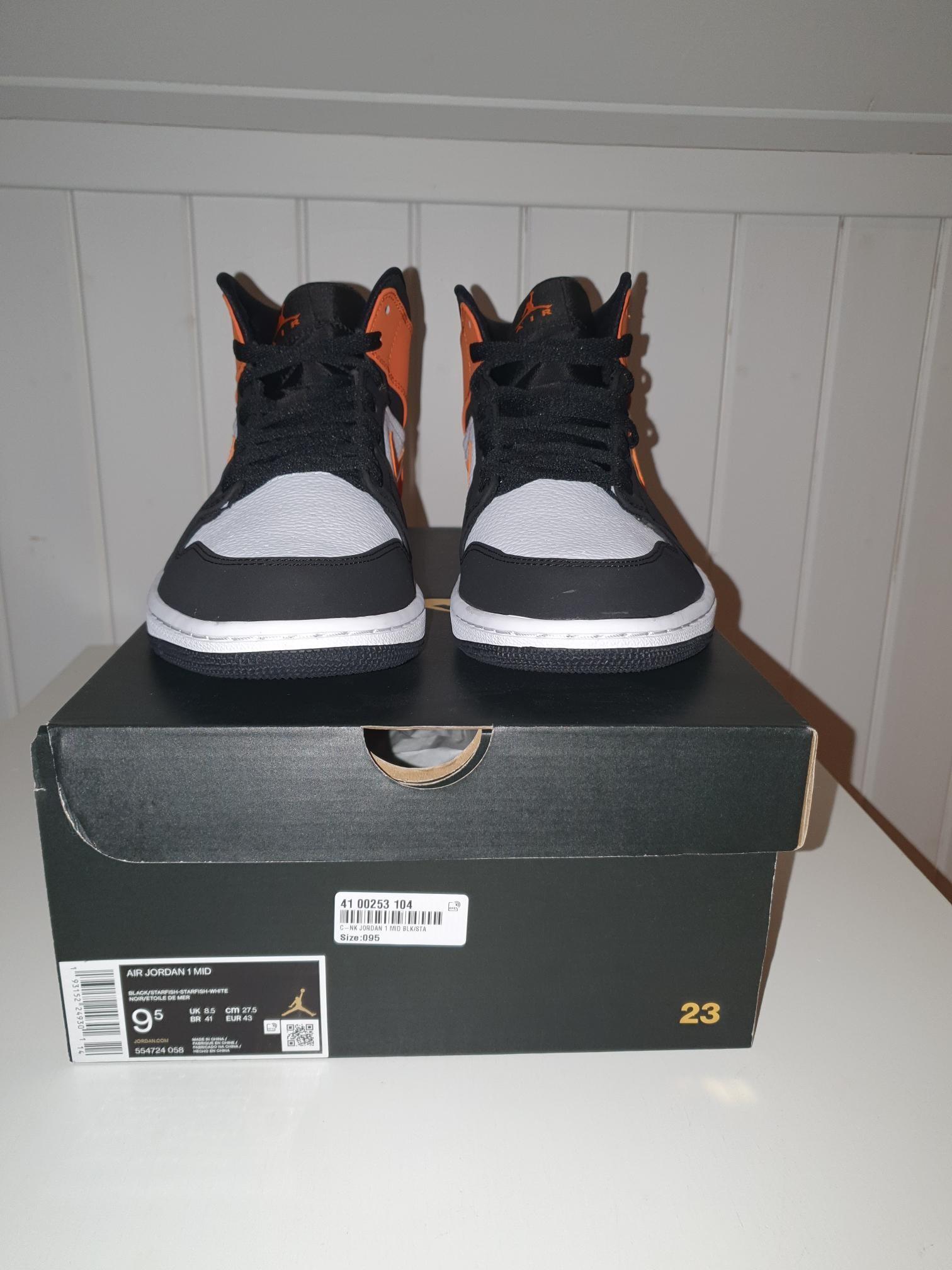 Nike Air Jordan Retro 1 Mid Shattered Backboard Starfis