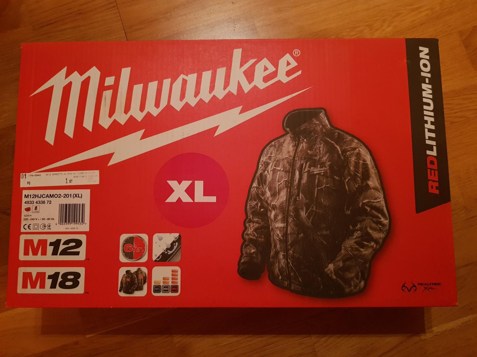 Milwaukee M12 Varmejakker. Bare 1 stk. igjen | FINN.no