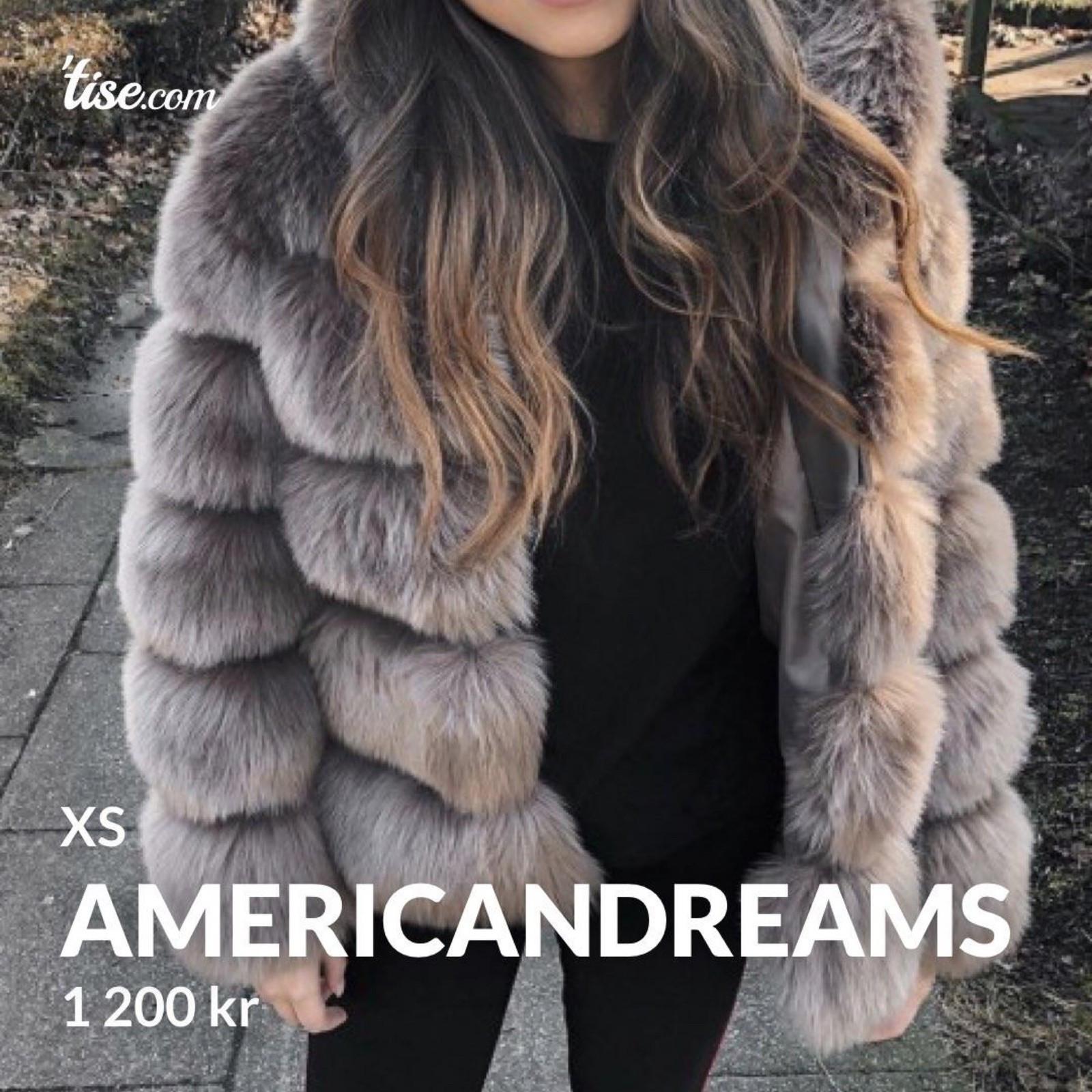 Faux Fur Jakker Americandreams