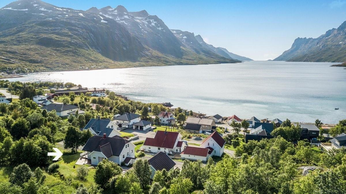 Kort spasertur fra bolig og til Bryggejentene