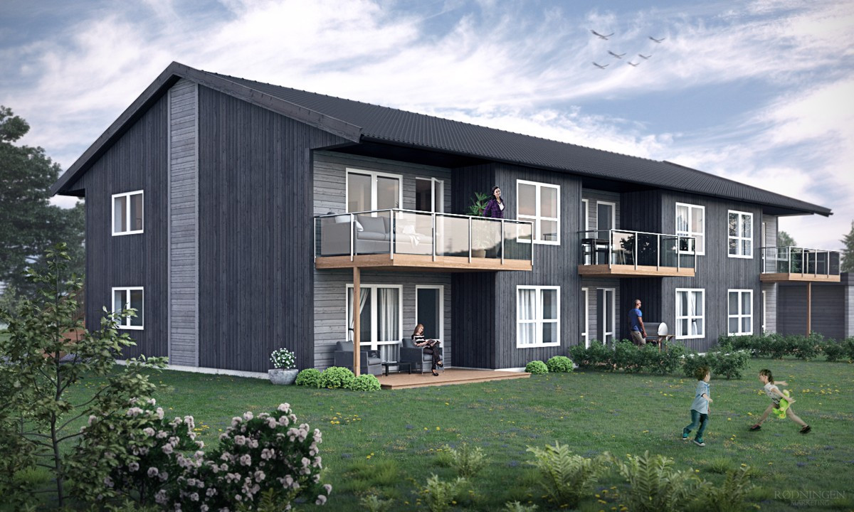 Leilighet - klavestadhaugen - 2 690 000 til 2 890 000,- - Grimsøen & Partners