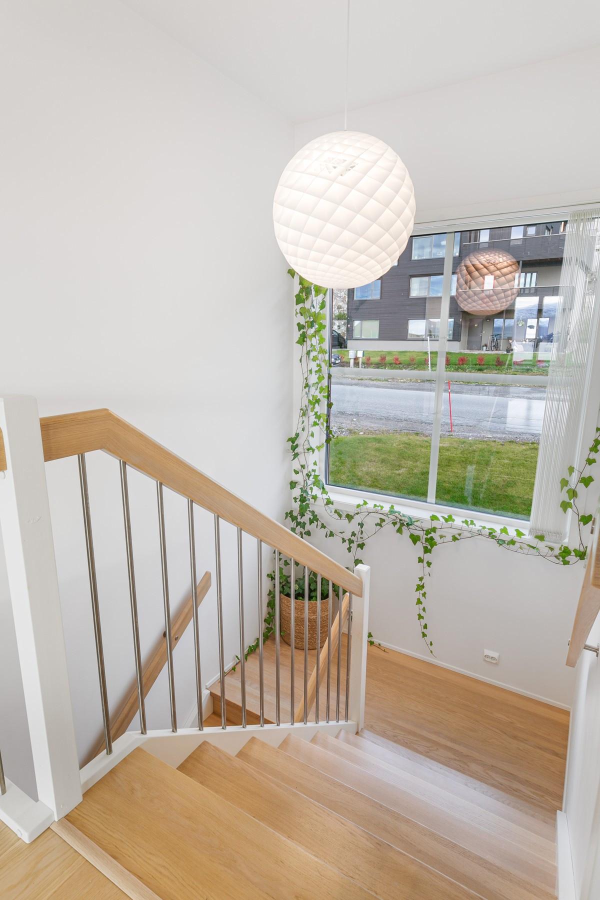 Fin trapp som tar deg mellom etasjene