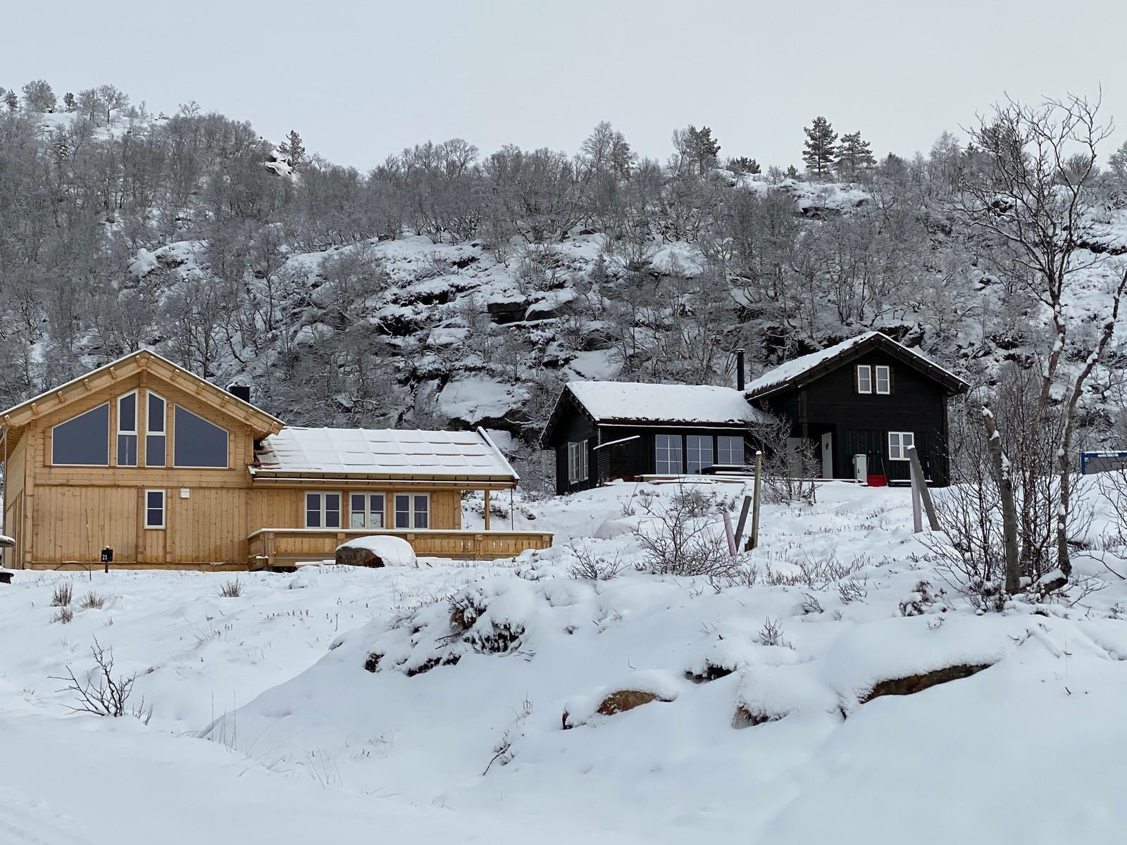 Kikut Panorama med 2 ulike vindusløsninger - Du kan få inntil 6 soverom i denne hytten!