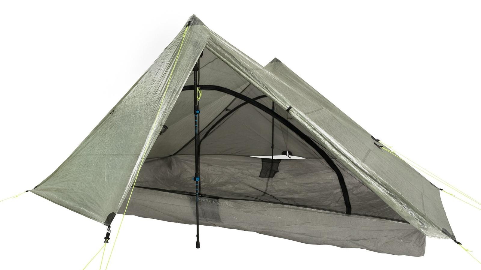 Zpacks Triplex ultralight tent 638g! + carbon fiber poles