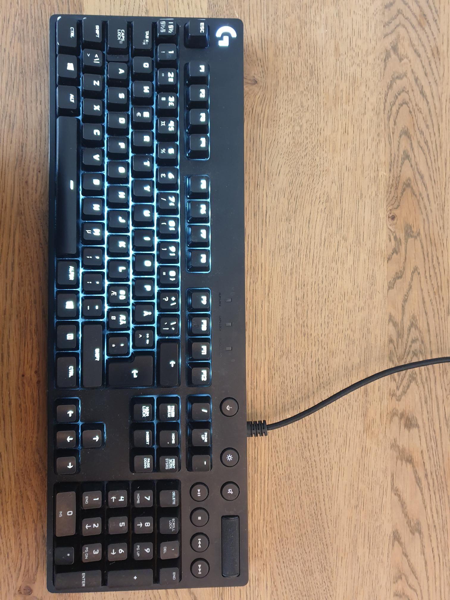 Logitech G610 tastatur | FINN.no