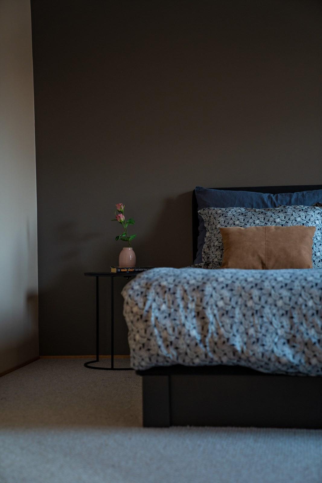 Gulvene er av høykvalitets tepper og veggene er malt i lekre farger