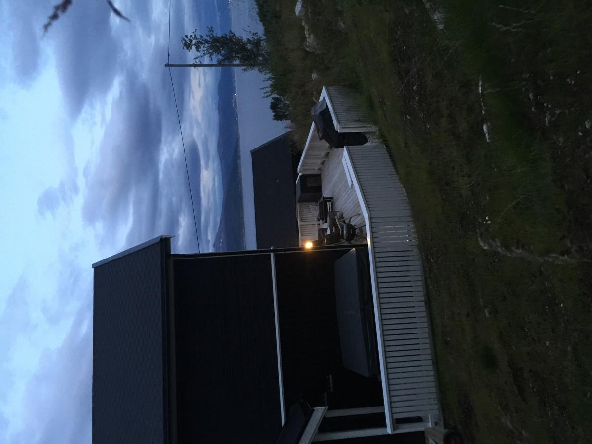 Stor veranda