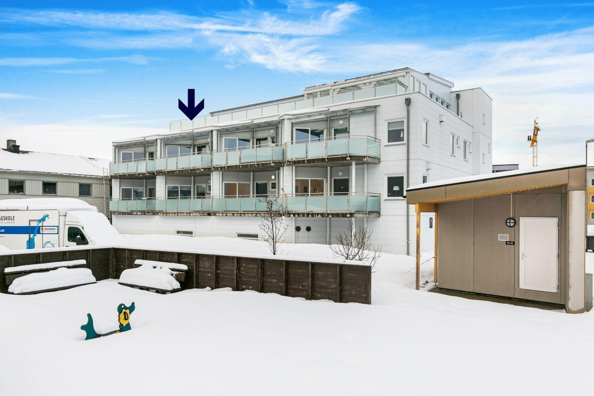 Moderne blokk med kun 9 stk leiligheter