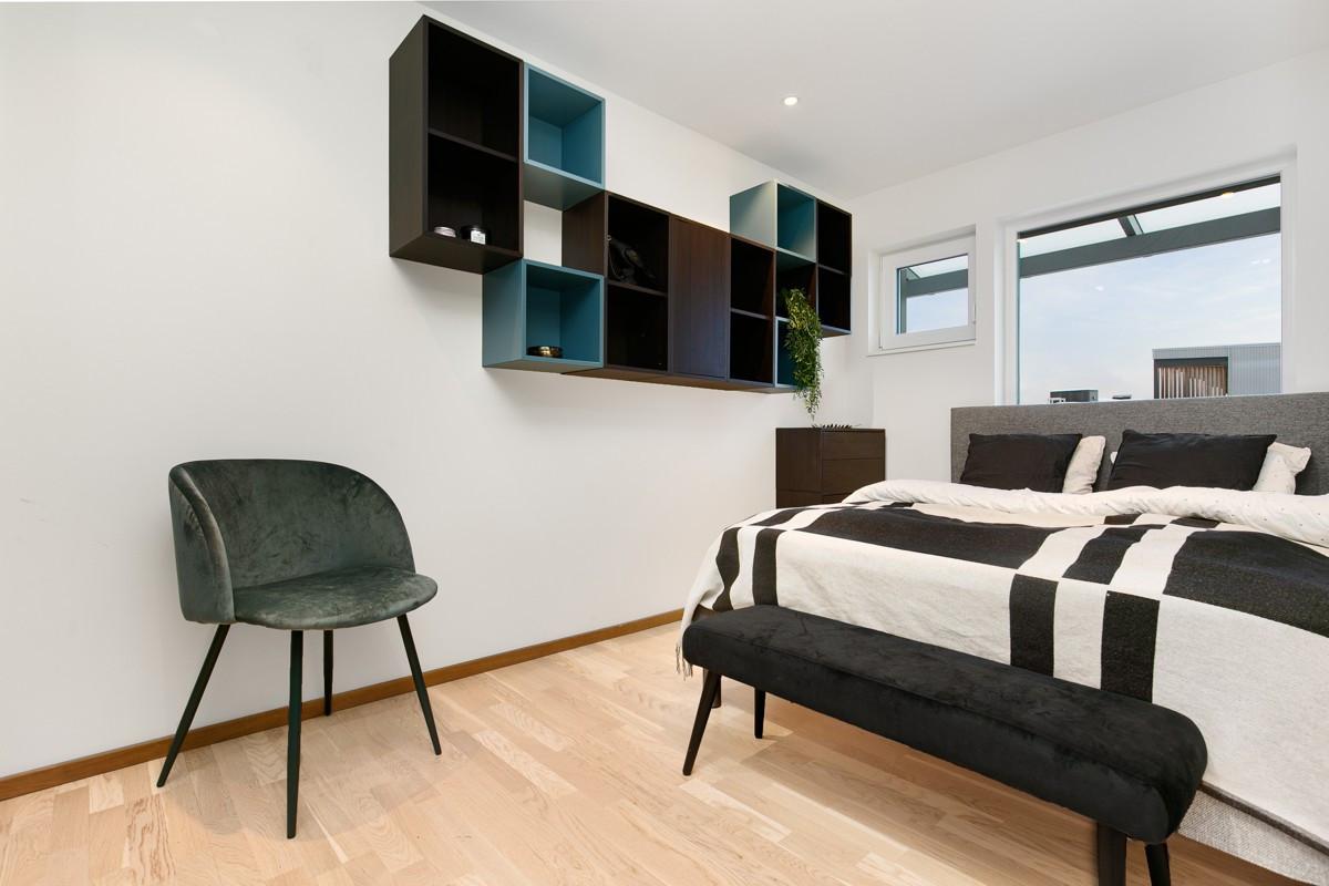 Dette rommet kan fint brukes til både en forlengelse av stue som tv-rom eller kontor