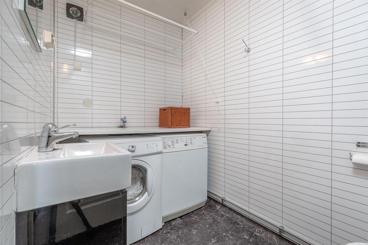 Vaskerom og wc