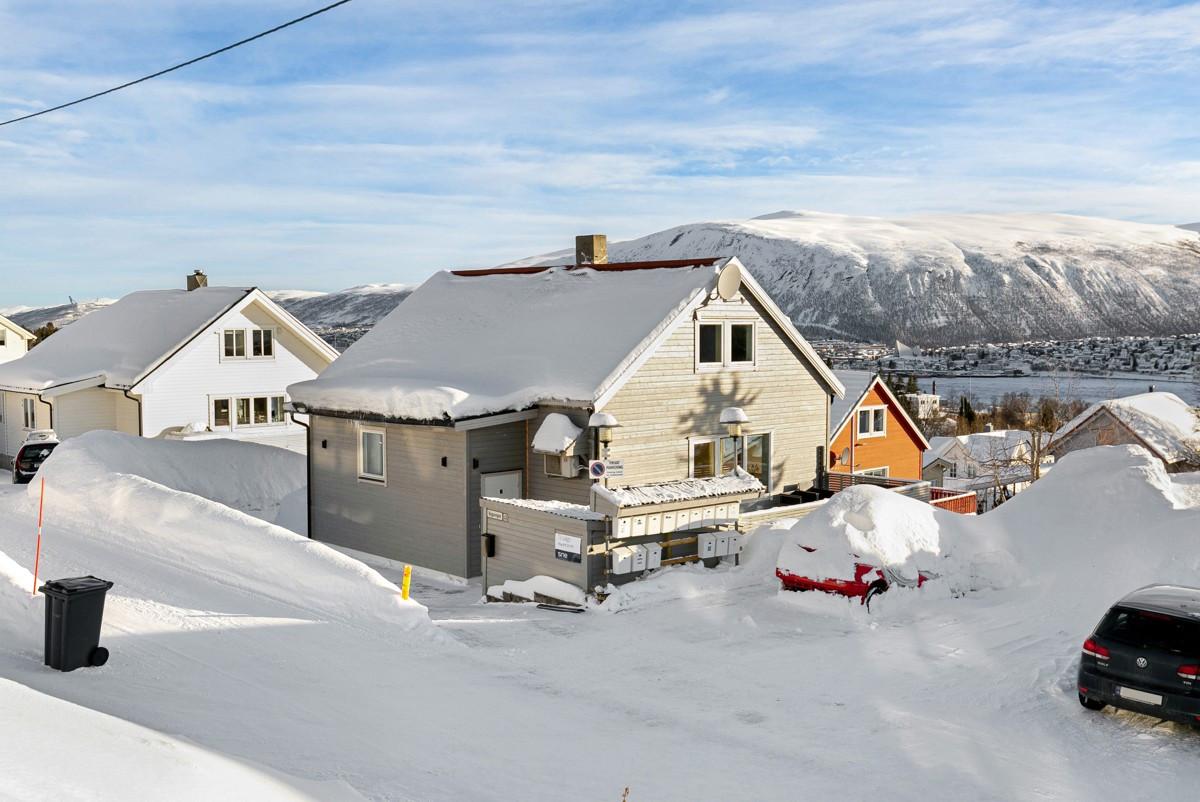 Enebolig med 4 soverom og sentral beliggenhet i et populært boligområde på Tromsøya!