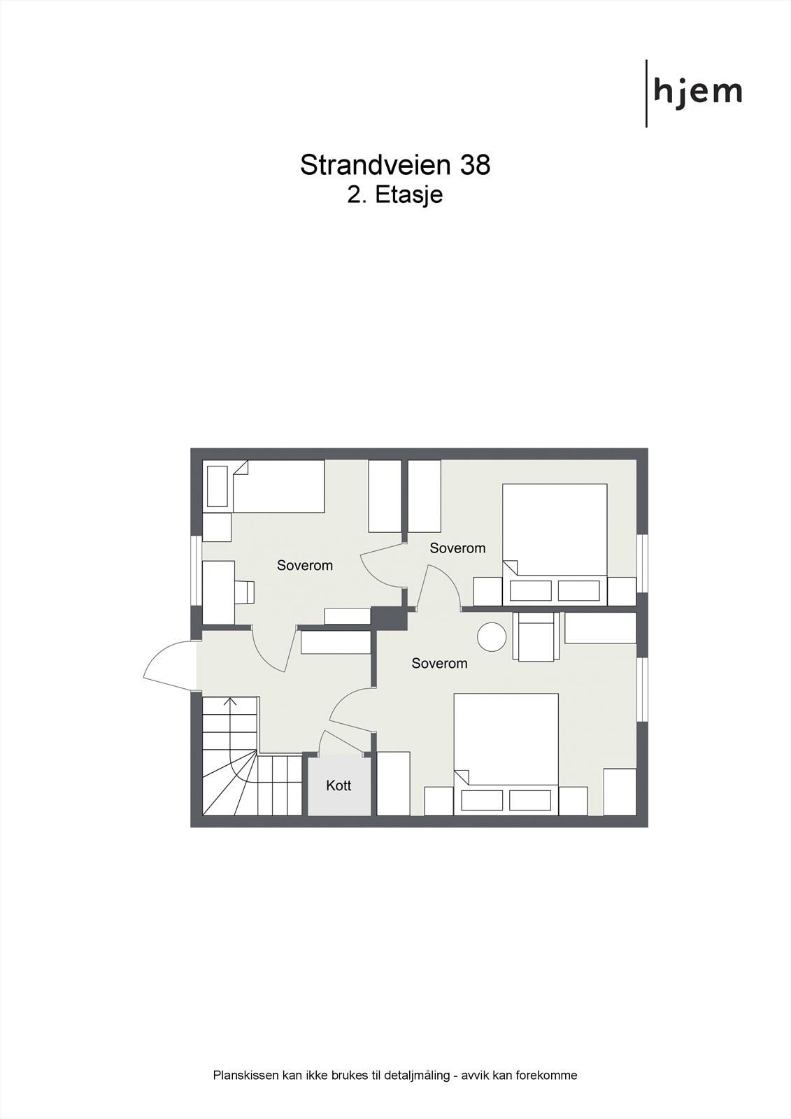 2D planilliustrasjon 2. etasje.