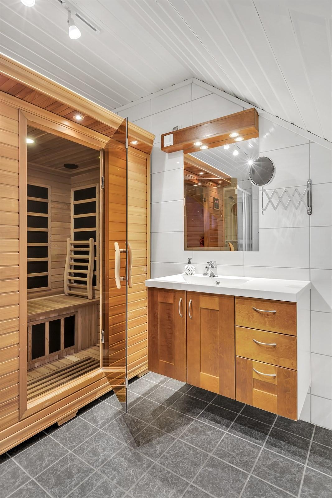 Badstue på badet