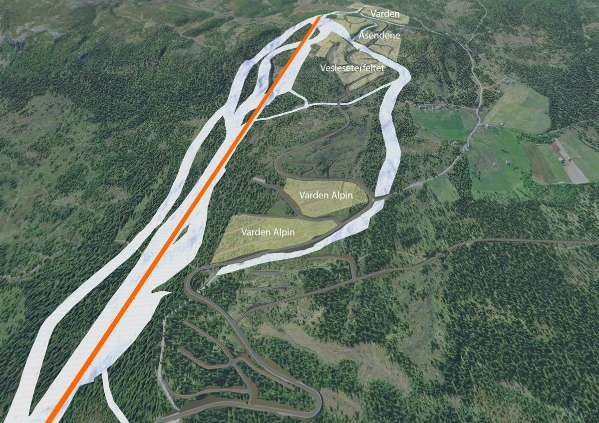 Nye Varden Alpin.