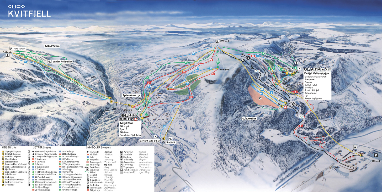 Alpin kart.