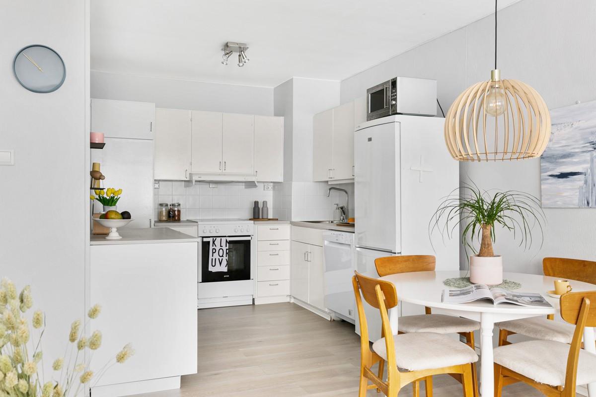 Praktisk og funksjonelt kjøkken