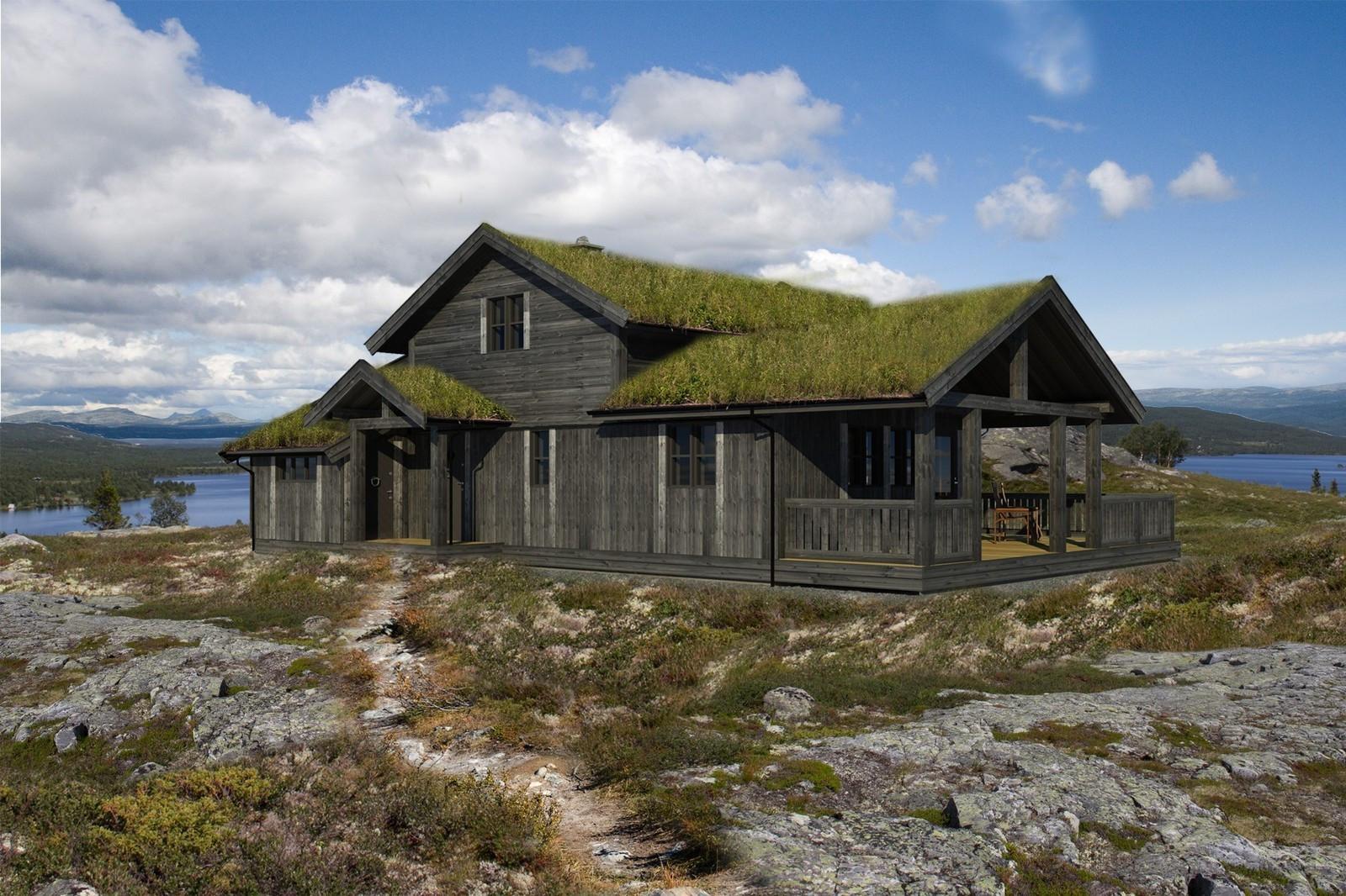 Spesial tilpasset for hyttefeltet er en unik hytte Storodde Spesial fra Buen Lillehammer. Hytte under oppføring 1 time fra feltet.