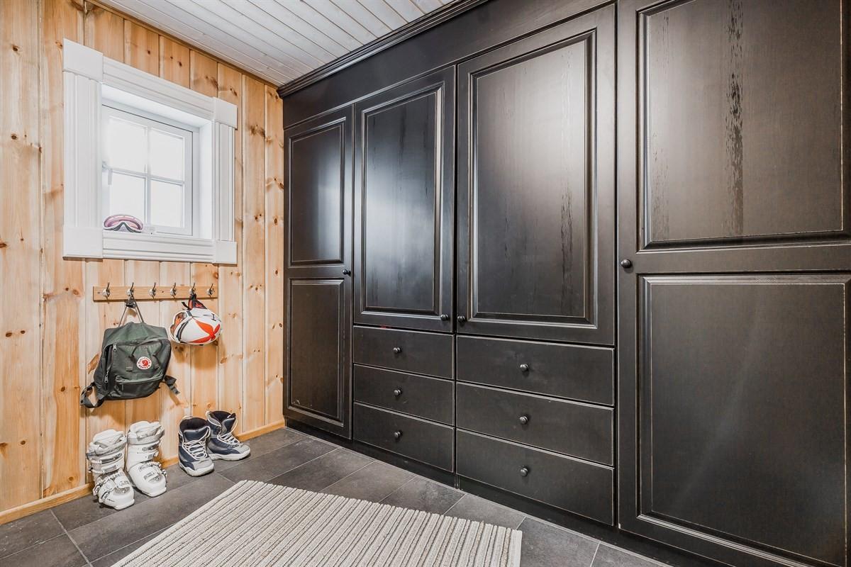 God lagring i garderobe