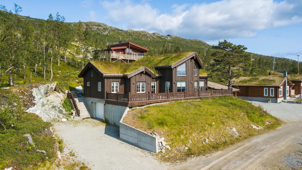 Fantastisk fritidsbolig på nydelig utsiktstomt i Målselv Fjellandsby