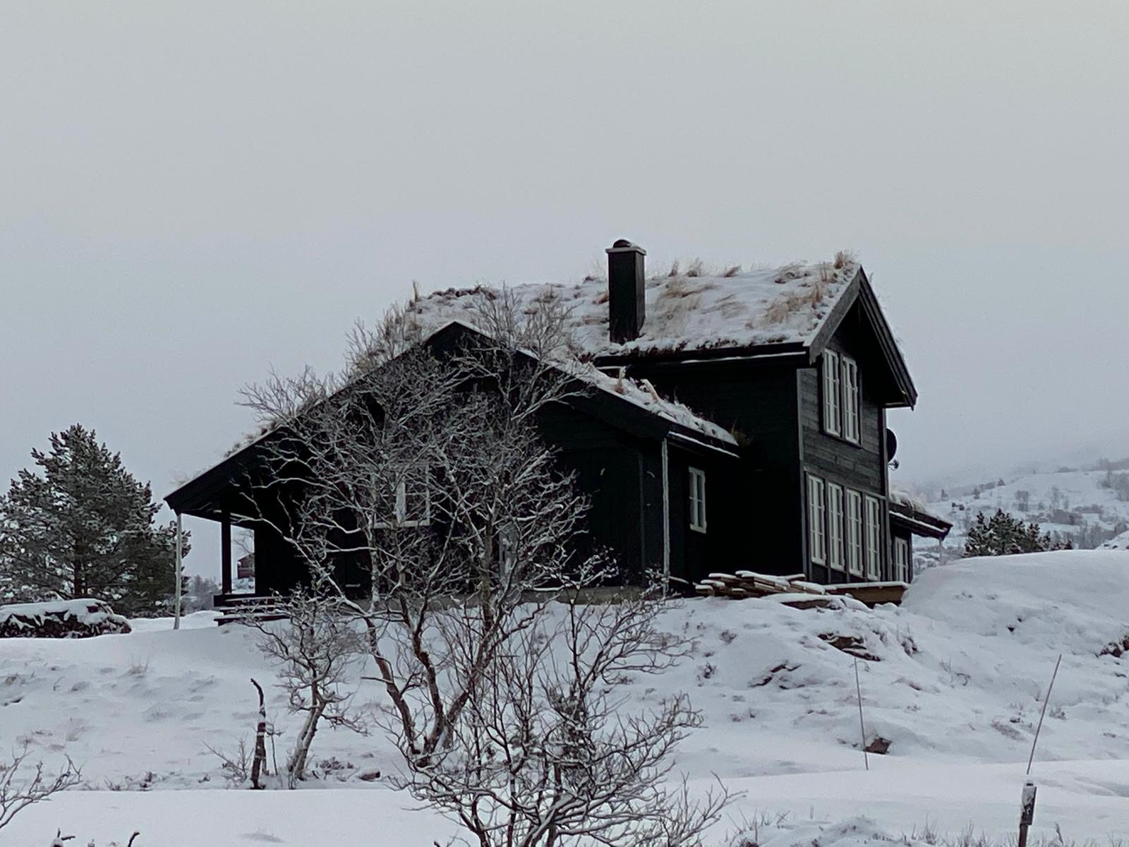 En kundetilpasset Storodde hytte som er oppført på Hattevarden