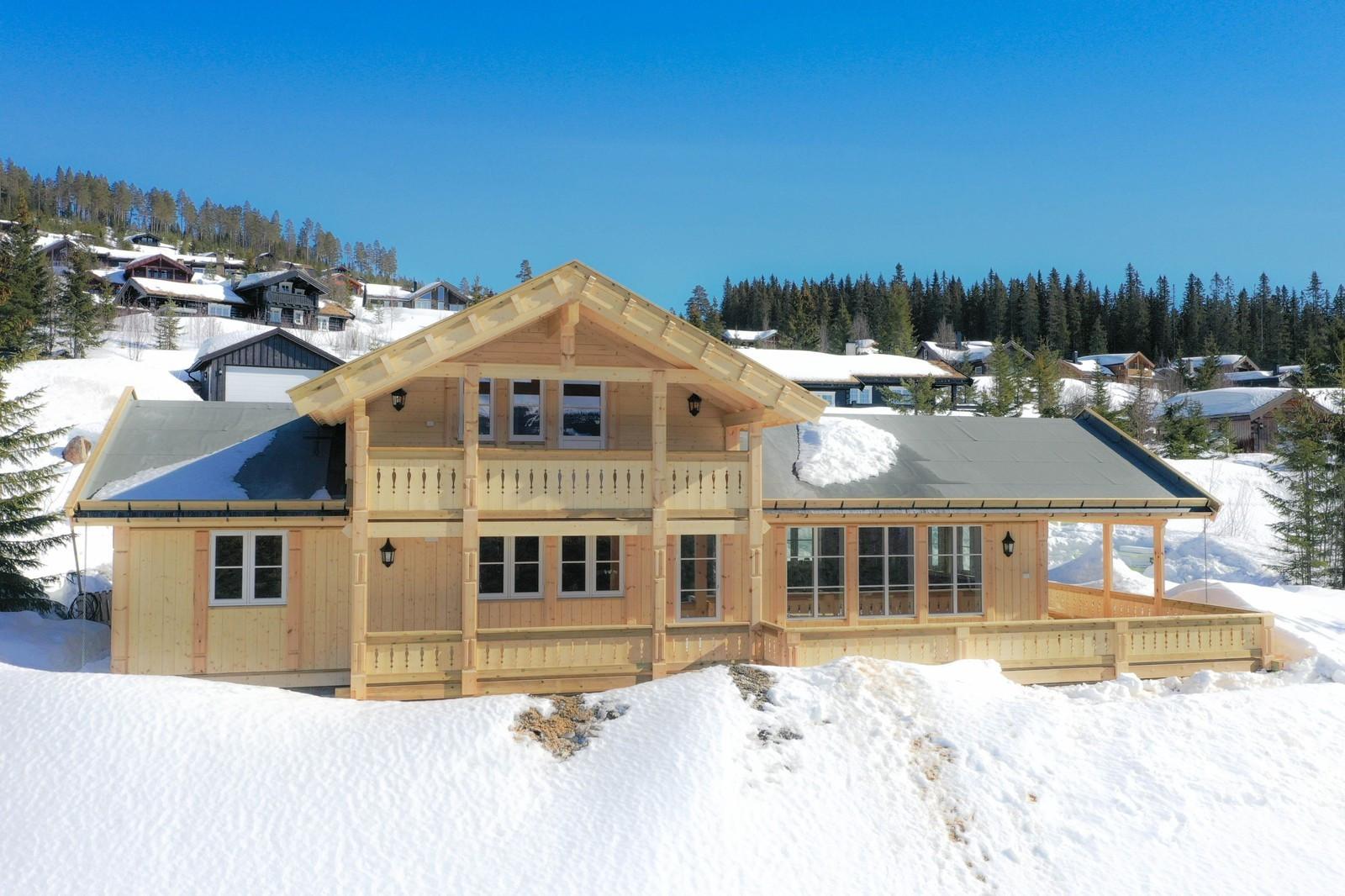 Vi bygger Norges mest kjøpte fjellhytte på Skrimfjellet.
