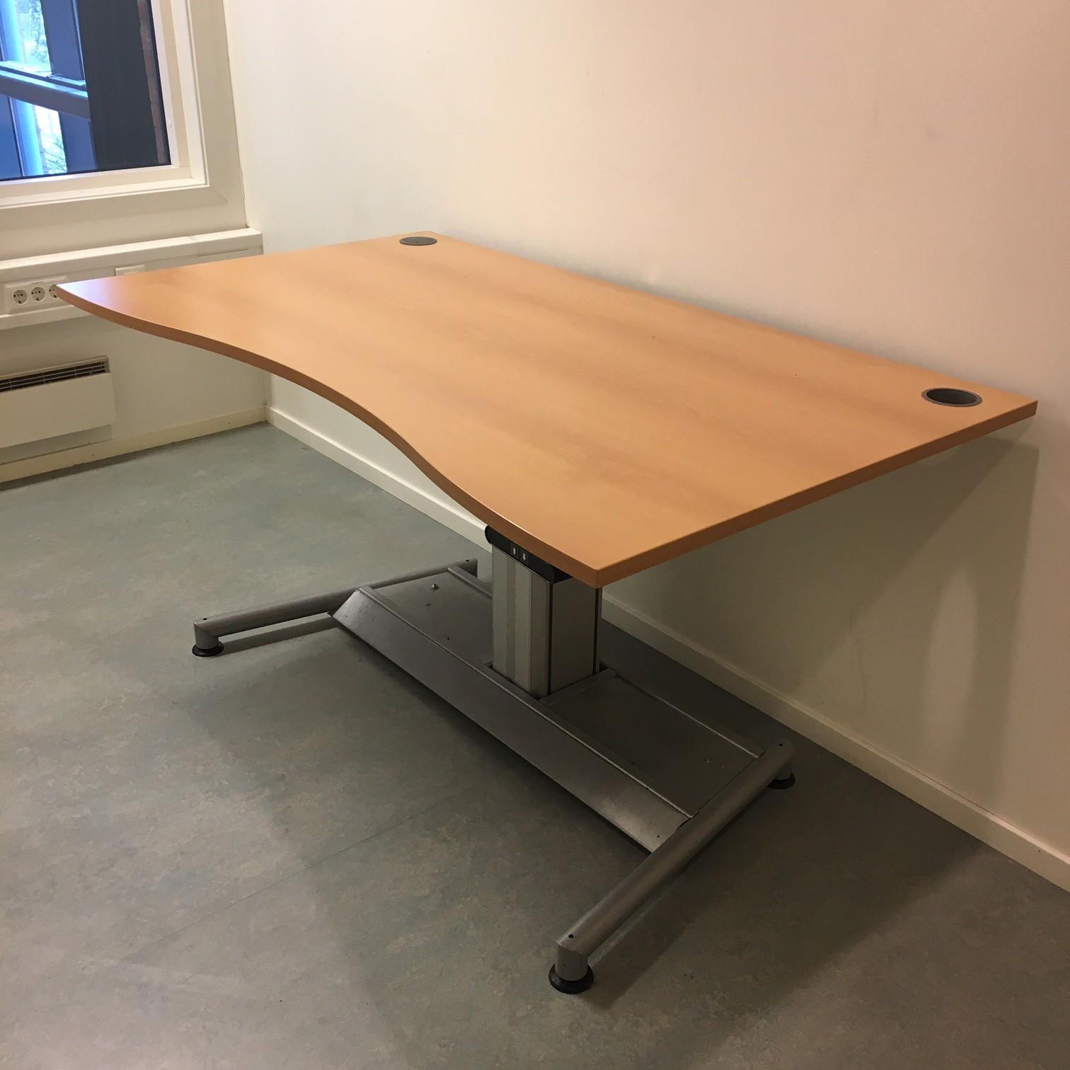 Skrivebord, 90×80 cm – Scandinavian Office as