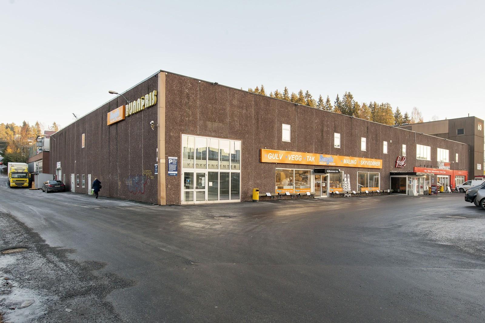 Innkjøring til eiendommen fra Skårersletta