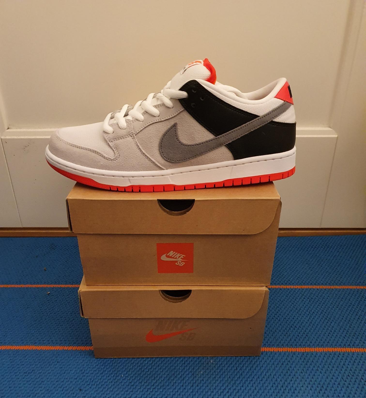 Nike SB Dunk Infrared 44   FINN.no