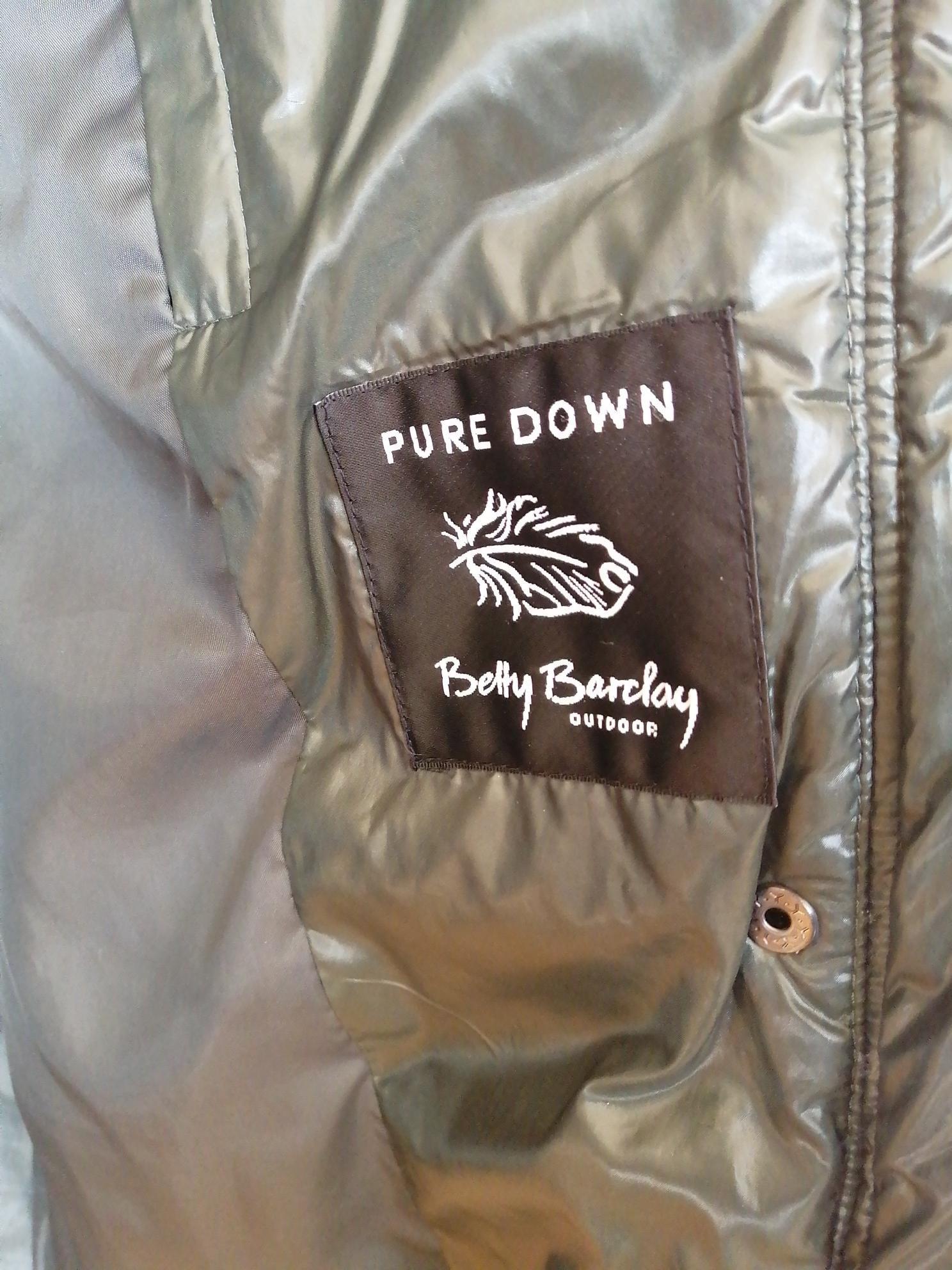 Betty Barclay dunjakke kåpe str 46 | FINN.no