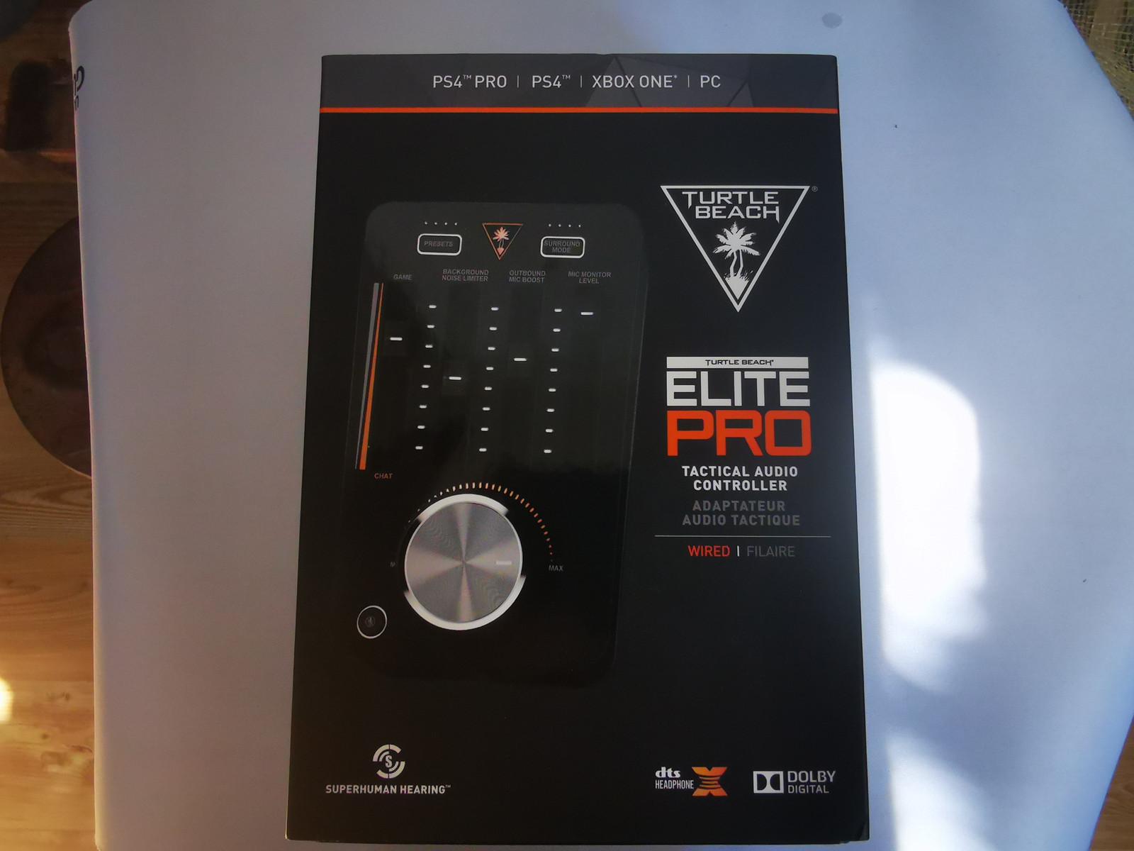 Turtle Beach Elite Pro Tactical lydkontroll Streaming og