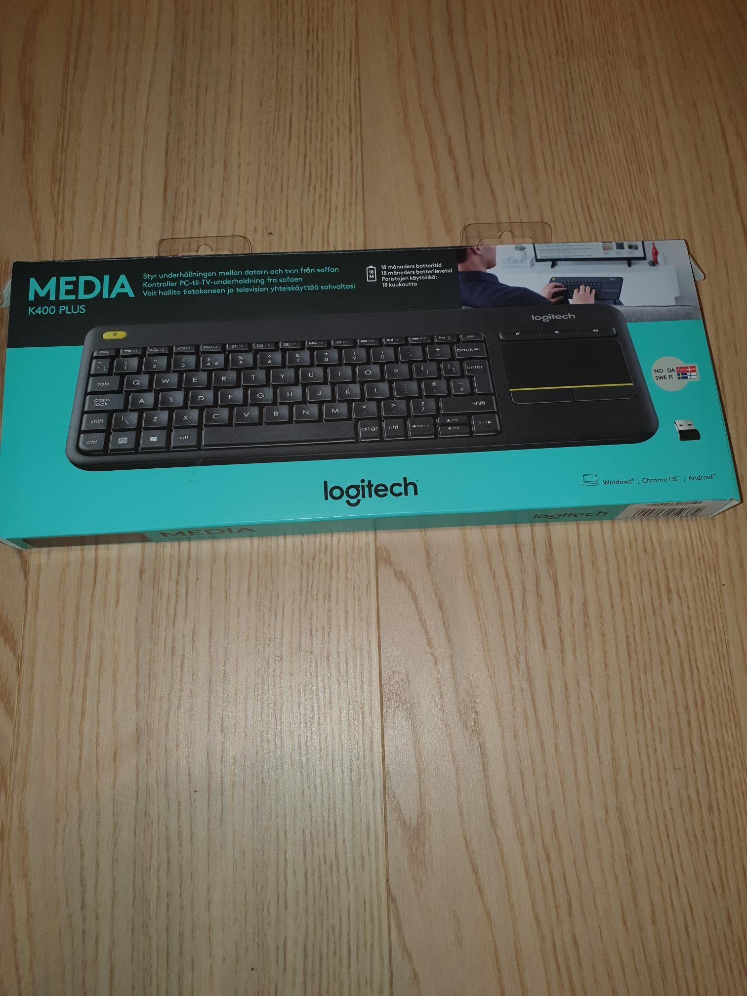 Logitech trådløst tastatur | FINN.no