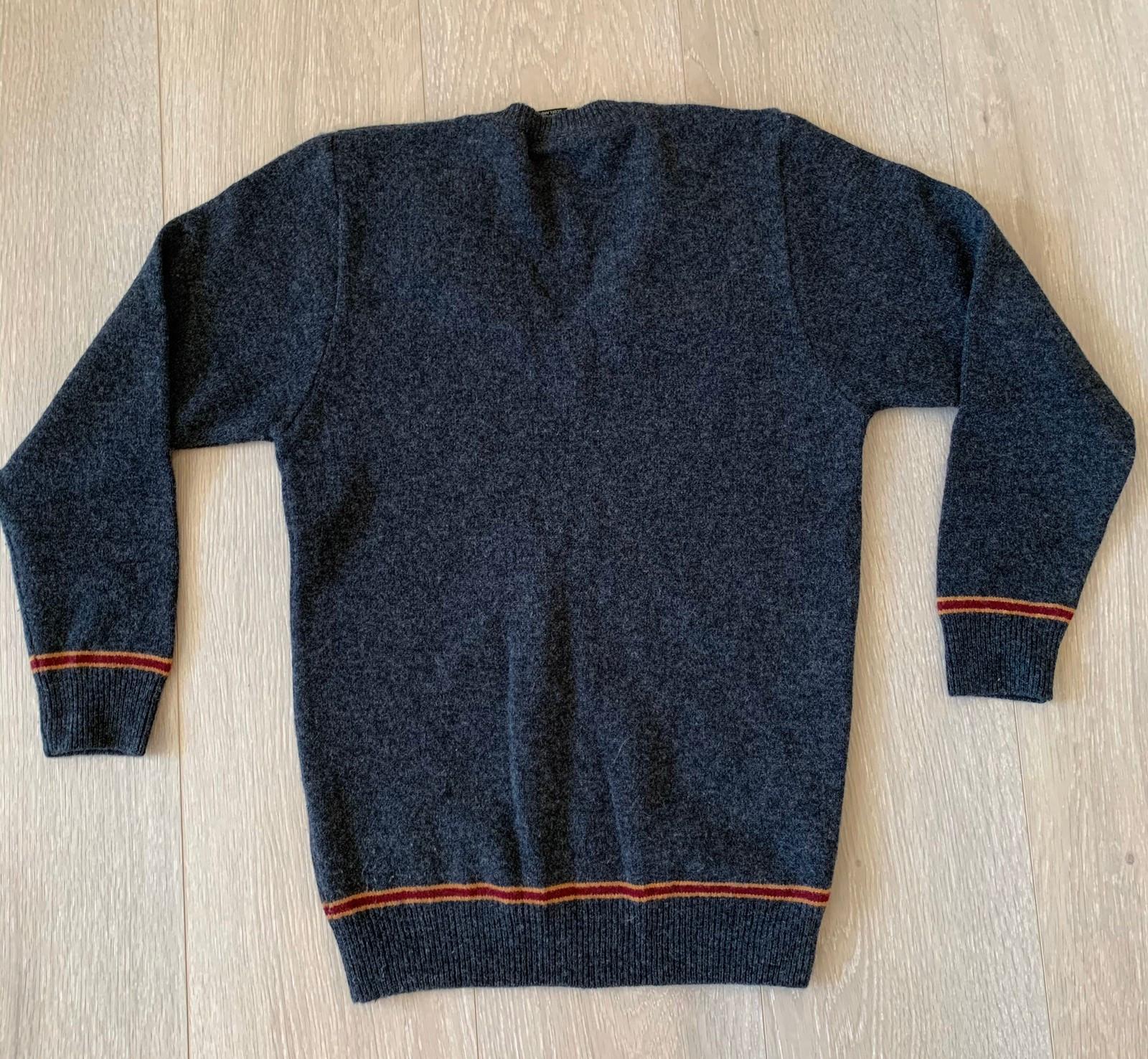 strikke skotsk genser